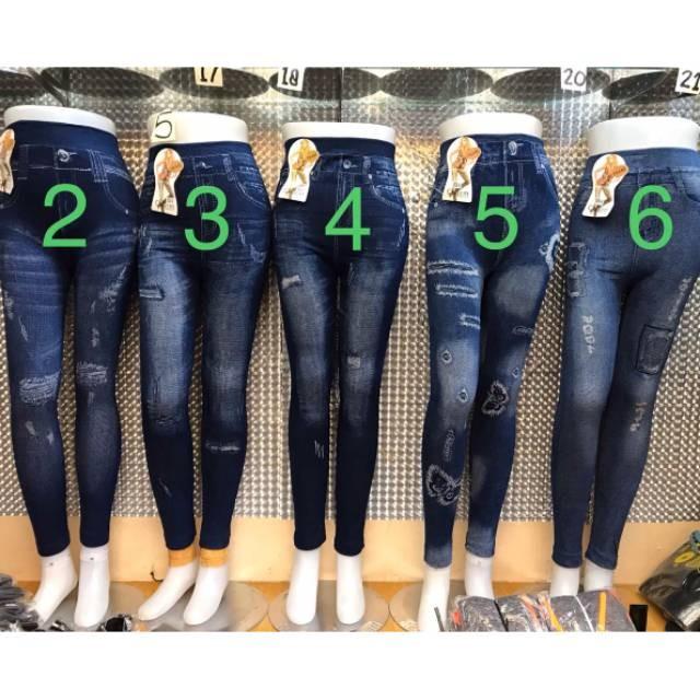 Jual Jual Terbaru Celana Legging Jeans Panjang Motif Sobek Import Limited Jakarta Barat 014 Gendustore Tokopedia