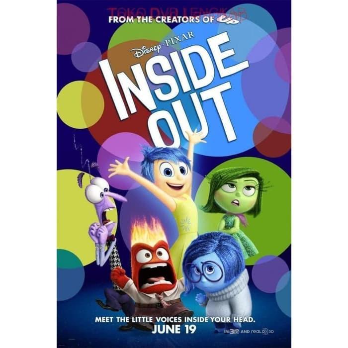 Jual Film Dvd Inside Out 2015 Kota Bandung Arneshtri Tokopedia
