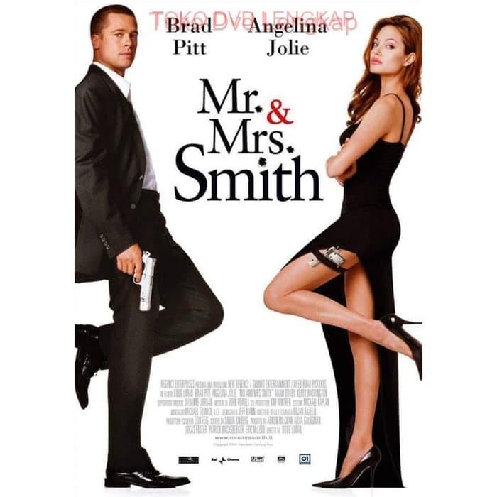 Jual Film Barat Jadul Mr Mrs Smith 2005 Kota Bandung Filmkita Tokopedia