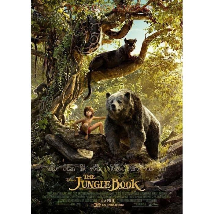 Jual Film Dvd The Jungle Book 2016 2016 Kota Bandung Filmkita Tokopedia