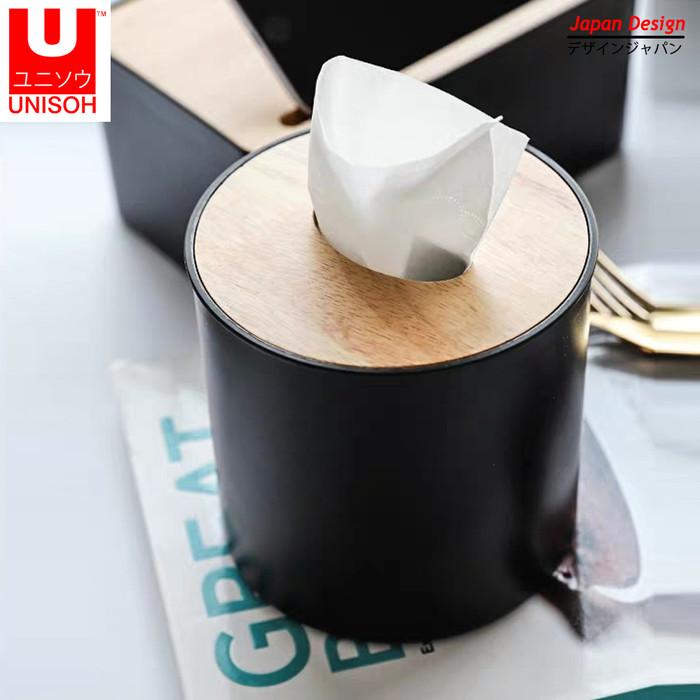 Foto Produk Tempat Tisu Roll / Tissue Gulung Toilet Bulat - Coffee dari serisaito