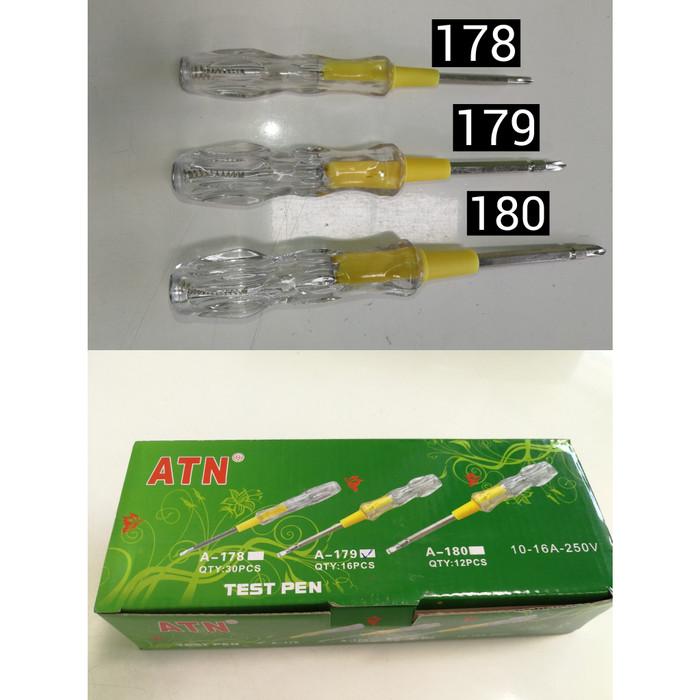 Jual Obeng Tespen Bolak Balik Tes Pen Test Pen A 178 179 180 Atn 180 21cm Jakarta Utara Terangjaya8899 Tokopedia