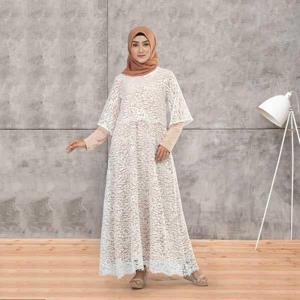 Foto Produk Baju Gamis Wanita Deloxa Boutique MM 526 dari Artikhashop