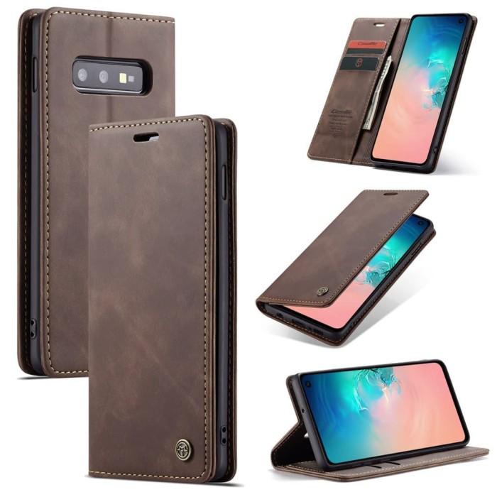 Foto Produk Samsung galaxy Note 8 Flip Case Caseme Cover Leather Wallet Dompet - Maron dari Vinvend ACC