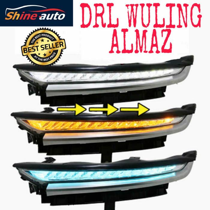 Foto Produk DRL Wuling Almaz 3 Fungsi Sein Running Plug and Play. dari ShineAuto
