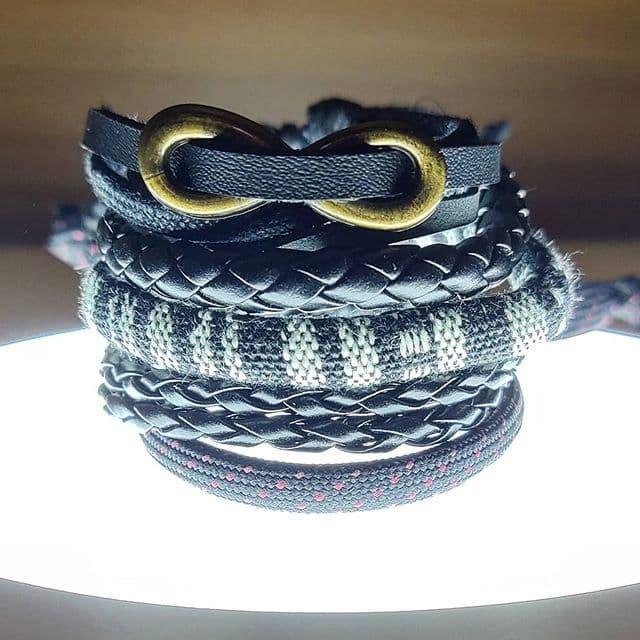 Foto Produk [COD] Gelang Infiniti set unisex Allsize gelang pria gelang wanita 99 dari DHV store