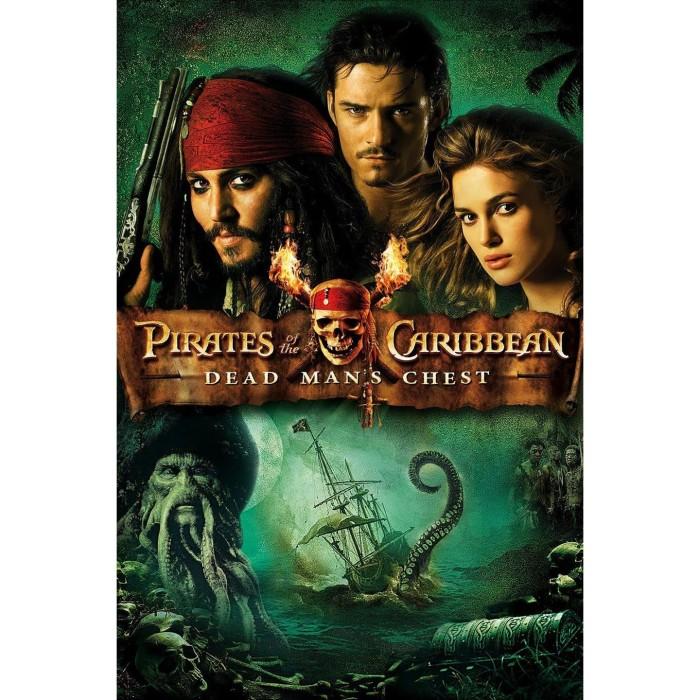 Jual Dvd Film Pirates Of The Caribbean Dead Man S Chest 2006 Kab Bandung Gunadi S Tokopedia