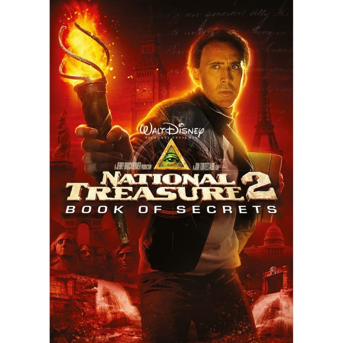 Jual Dvd Film National Treasure 2 Book Of Secrets 2007 Kab Bandung Gunadi S Tokopedia