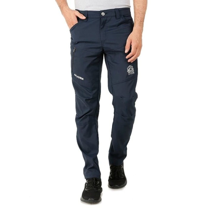 Foto Produk Celana Panjang Gunung Quickdry - Outdoor Tactical Hiking Touring Pants - Biru Navy, L dari Travelonest