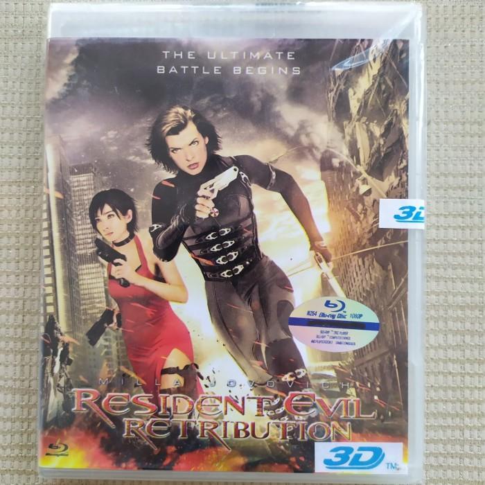 Jual Bluray 3d Resident Evil Retribution 2012 Jakarta Pusat Bluraydvd Tokopedia