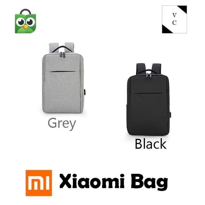 Foto Produk Xiaomi Bag Tas Ransel Backpack Laptop Original Mi Bag - Hitam dari VarianClothes