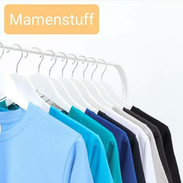 """Foto Produk Baju pria / Kaos pria polos premium bukan abal"""" yaa - Merah, S dari mamen stuff"""