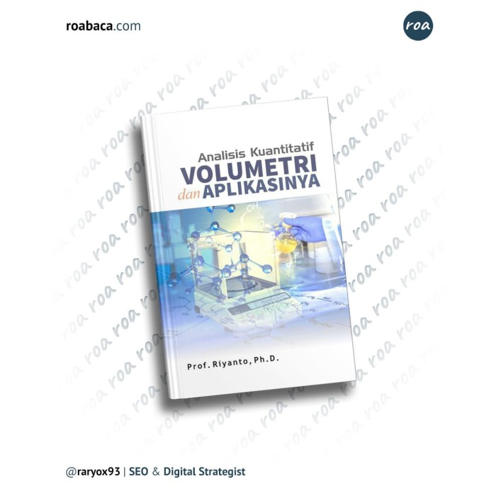 Foto Produk Analisis Kuantitatif Volumetri Dan Aplikasinya dari roabaca