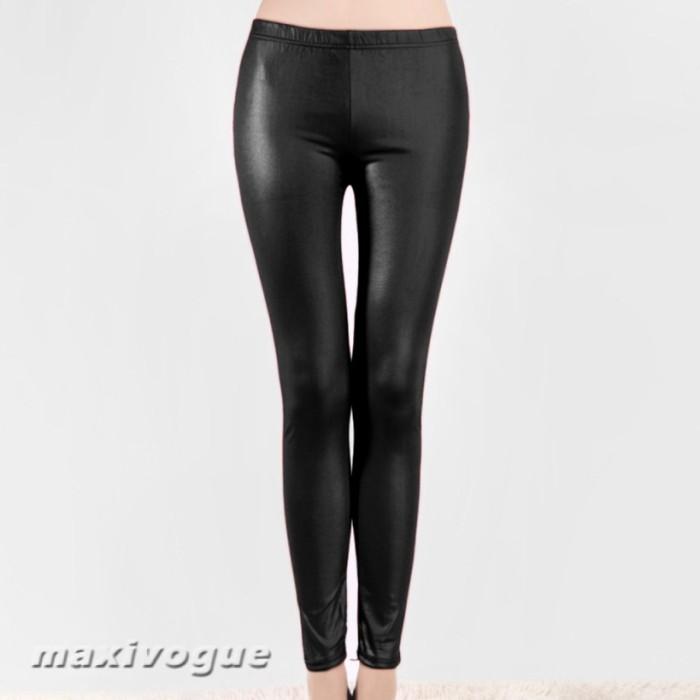 Jual Celana Legging Pensil Panjang Model High Waist Bahan Pvc Warna Hitam Kab Bogor Petra Speak Tokopedia