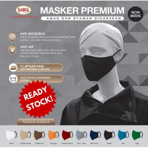 Promo Ready Masker Sritex Original Anti Air Warna Pelindung Mulut Hidung Jakarta Utara Belowsaban Tokopedia
