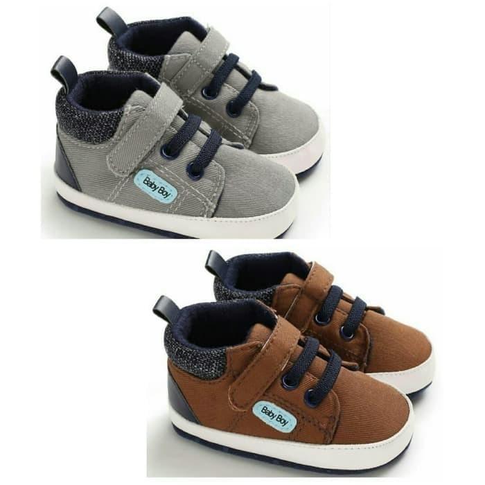 Foto Produk Sepatu Bayi Laki-Laki Boots Prewalker Shoes Import Baby Boy dari Nuning Ningrum Shop