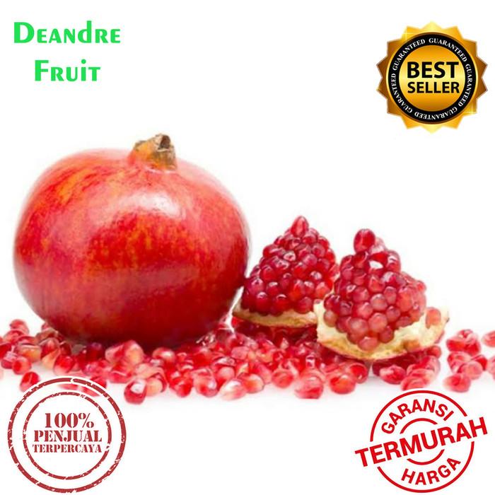 Foto Produk Buah Delima Merah import JUMBO TERMURAH DIJAMIN MURAH DIBAWAH PASARAN dari Deandre Fruit Market1