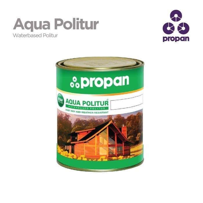 Foto Produk Finishing Kayu Waterbased Propan Aqua Politur clear dari Semesta_Satu