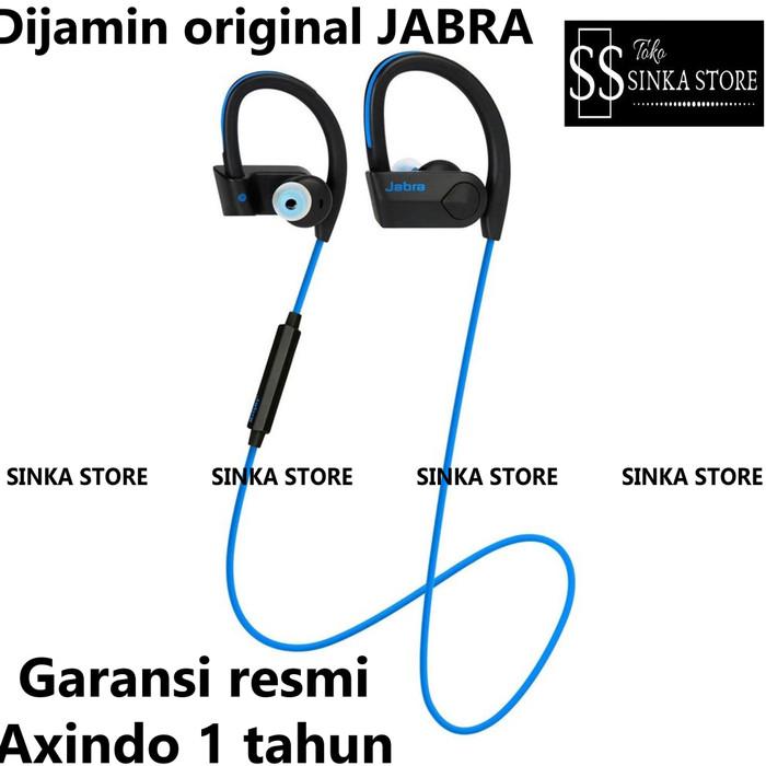 Jual Headset Bluetooth Jabra Sport Pace Earphones Wireless Original Jabra Biru Jakarta Pusat Sinka Store Tokopedia