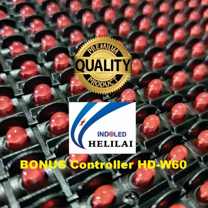 Foto Produk Hi Quality P10 Merah GKGD (FULL OUTDOOR) Tahan Air dari Pusat Grosir LED