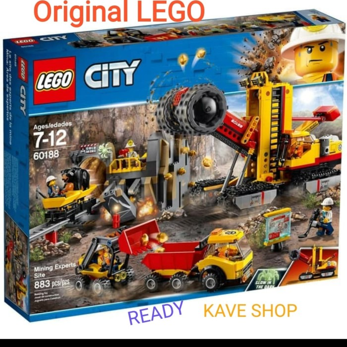 Jual Lego 60188 City : Mining Experts Site - Jakarta Utara ...