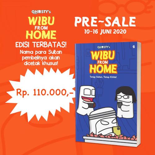 Foto Produk Ghosty's Wibu From Home - Tetap Sehat Tetap Hilap - Raden Fajar Hadria dari Toko Kutu Buku