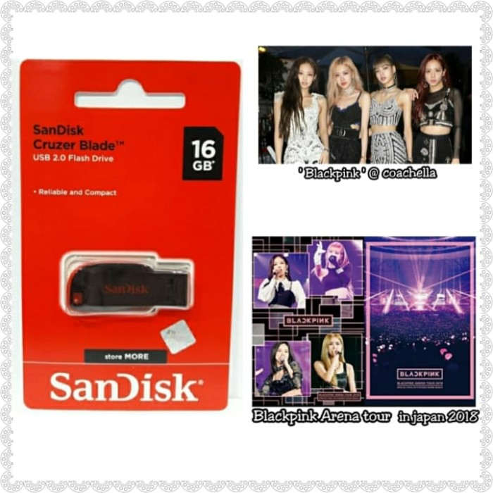 Foto Produk [PAKET HEMAT] 2 konser BLACKPINK & Flashdis 16 GB dari Hanara Collection