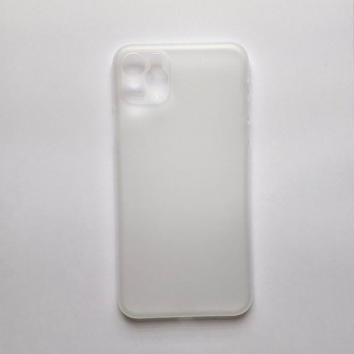 Foto Produk Ultra Thin Transparan (Semi Hard - Soft Case) Iphone 5 6 7 8 Plus X - iPhone 11Pro, Hitam dari Glitz Indonesia