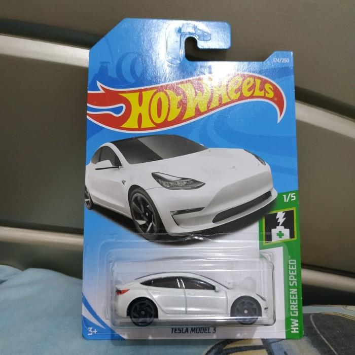 Jual Hotwheels Tesla Model 3 White Kota Surabaya Obilis Shop Tokopedia
