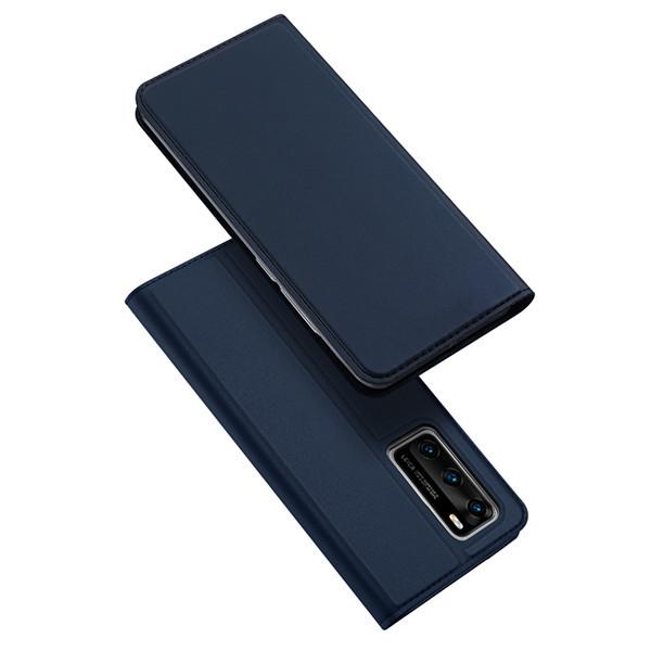 Foto Produk Case Huawei P40 | P40 Pro - Dux Ducis Original Premium Flip Casing - Biru, P40 Pro dari Gojali