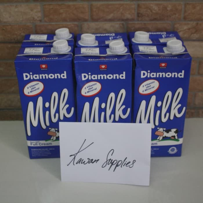 Foto Produk Diamond Milk UHT 6 pack - Setengah Lusin dari Kawan Supplies