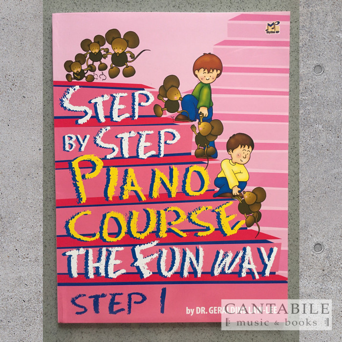 Foto Produk Buku Step By Step Piano Course The Fun Way Step 1-4 - Step 1 dari cantabilemusic