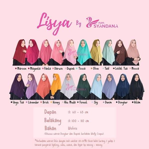 Jual Jual Lisya By Hijab Syandana Limited Jakarta Barat Giogaleryt Tokopedia