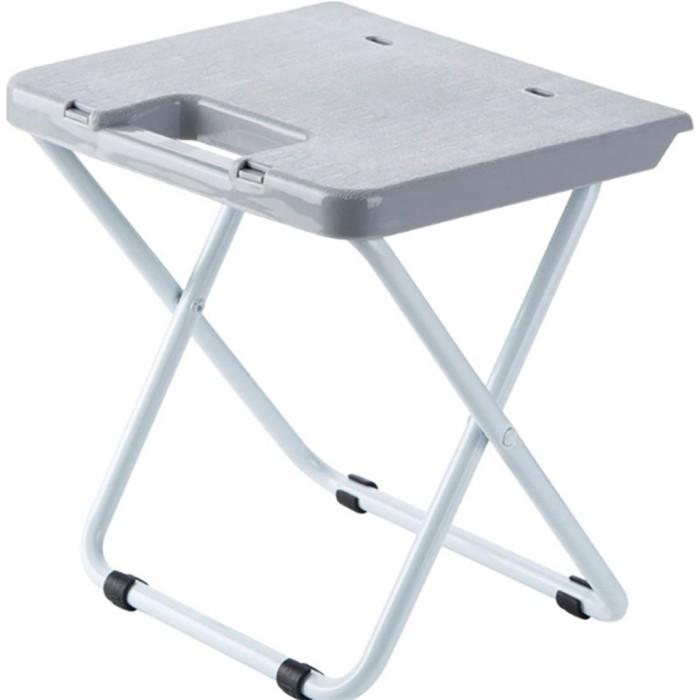 Jual New Portable Folding Stool Outdoor Folding Chair Mental Jakarta Barat Tresnomart Shop Tokopedia