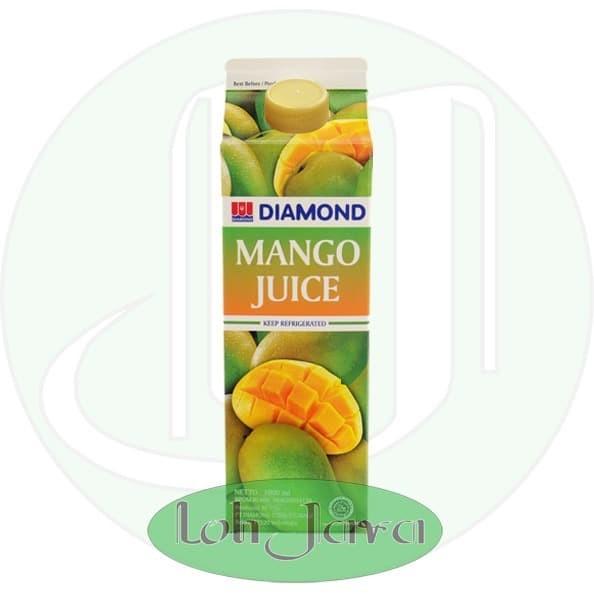 Foto Produk Jus Buah Segar Mangga/ Mango Diamond 946 ml Grosir dari Loh Java
