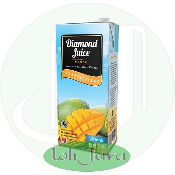 Foto Produk Jus Buah Segar Mangga/ Mango UHT Diamond 1 Liter Grosir dari Loh Java