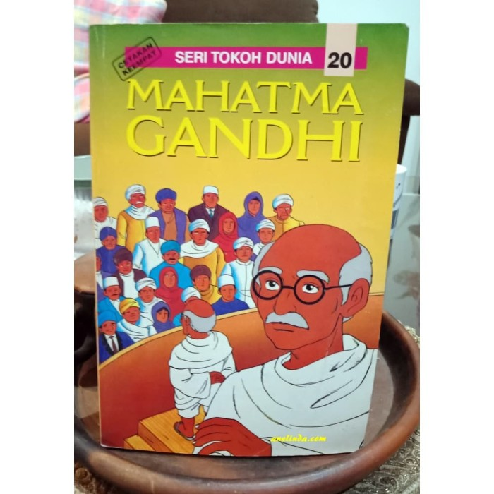 Foto Produk MAHATMA GANDHI - SERI TOKOH DUNIA 20 dari Anelinda Buku Klasik