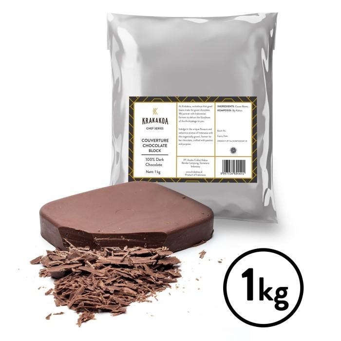 Foto Produk 100% Dark Chocolate Couverture dari Krakakoa Official