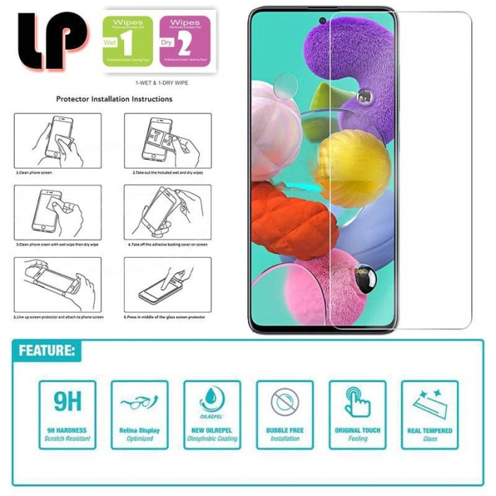 Foto Produk LP HD Tempered Glass Samsung Galaxy Note 10 Lite dari Logay Accessories