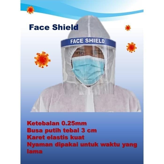 Foto Produk Face Shield Pelindung Wajah APD Anti Fog dari grosirltc