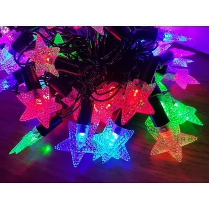 Foto Produk BINTANG Lampu Tumblr Bintang Lampu Hias Natal LED dari grosirltc