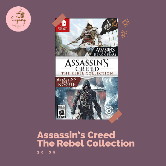 Jual Assassin Creed The Rebel Collection Nintendo Switch Digital