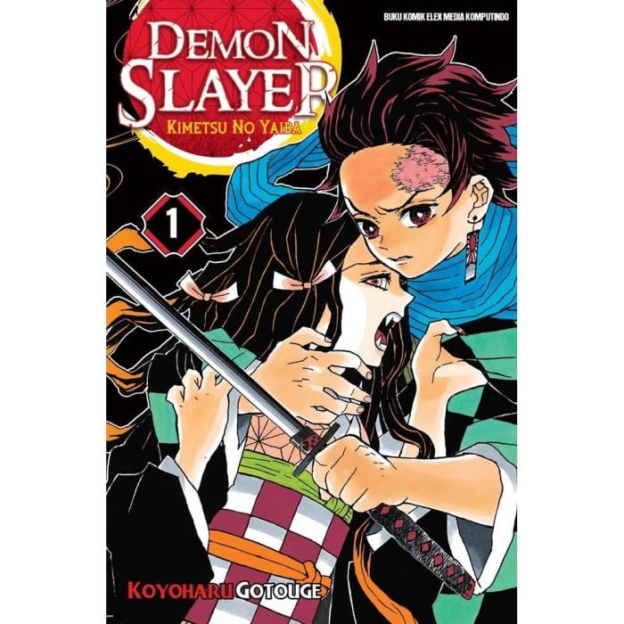 Foto Produk Demon Slayer: Kimetsu no Yaiba 01 - Koyoharu Gotouge - Elex Media dari Republik Fiksi