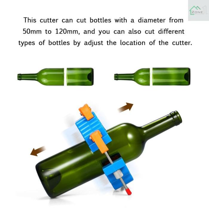 Jual Sale Alat Pemotong Botol Kaca Untuk Membuat Vas Bunga Wine Beer Jakarta Barat Rhyma Tokopedia