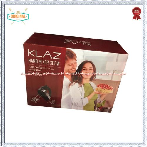 Foto Produk Klaz Hand Mixer 300 Wat Mixer Tangan Dengan 2 Beaters Dan 2 Dough Hook dari ismadebyanggita