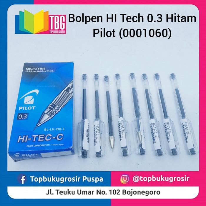 Jual Bolpen Hi Tech 0 3 Pilot Hitam Kab Bojonegoro Thebestgrosir Tokopedia