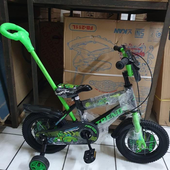 Foto Produk Sepeda anak 12 Little bat tongkat stir ban pompa dari kedaisepeda