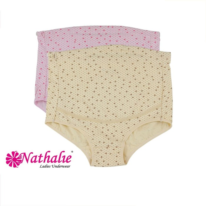 Foto Produk Nathalie Celana Dalam Maternity Hamil Maxy Pants 1 PCS NTC 1037 - XL, Merah Muda dari Flyman Nathalie Store