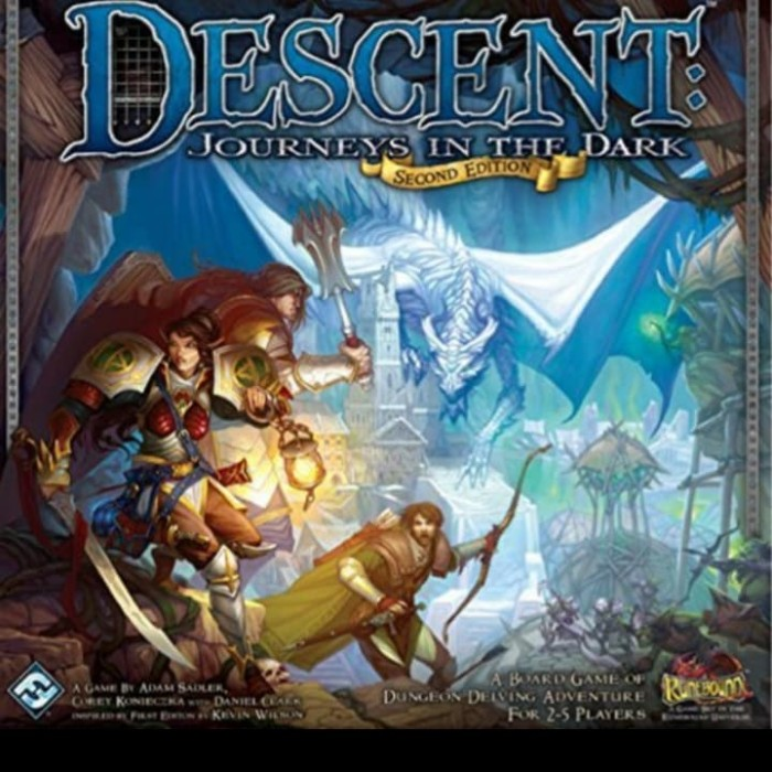 Foto Produk Descent Journey into Darkness 2nd Edition Board Game dari Toko Board Game