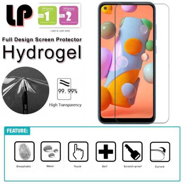 Foto Produk LP HD Hydrogel Screen Guard Samsung Galaxy A11 - M11 - Antigores Clear dari Logay Accessories